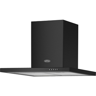 Belling BEL 60 BCH Built In Chimney Cooker Hood - Black - BEL 60 BCH_BK - 1