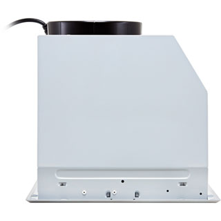 Belling Unbranded 60 UCH Built In Canopy Cooker Hood - Silver - 60 UCH_SI - 5