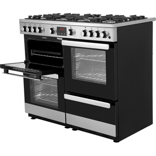 Belling Cookcentre100G Gas Range Cooker - Stainless Steel - Cookcentre100G_SS - 4