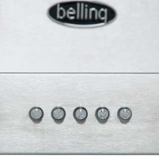 Belling COOKCENTRE 110 FLAT Built In Chimney Cooker Hood - Stainless Steel - COOKCENTRE 110 FLAT_SS - 2