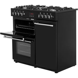 Belling Farmhouse90G Gas Range Cooker - Black - Farmhouse90G_BK - 2