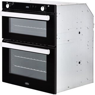 Belling BI702G Built Under Gas Double Oven - Stainless Steel - BI702G_SS - 2