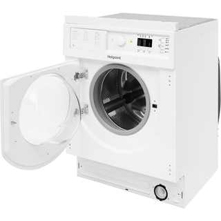 Hotpoint BIWDHL7128 Integrated 7Kg / 5Kg Washer Dryer with 1200 rpm - BIWDHL7128_WH - 3