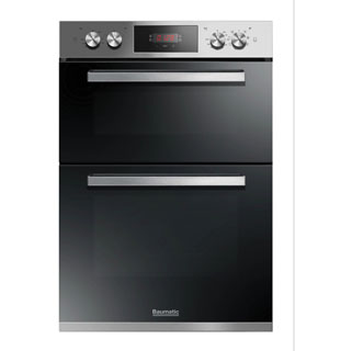 Baumatic BODM984X Built In Electric Double Oven - Stainless Steel - BODM984X_SS - 1