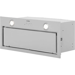 Bosch Serie 6 DHL785CGB Built In Canopy Cooker Hood - Brushed Steel - DHL785CGB_BS - 1