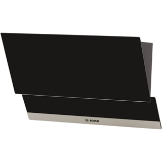 Bosch Serie 4 DWK065G60B Built In Chimney Cooker Hood - Black - DWK065G60B_BK - 4