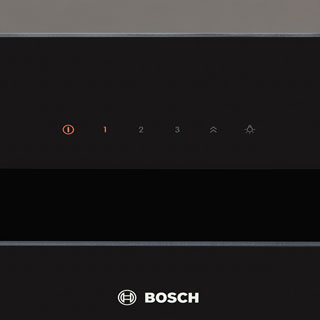 Bosch Serie 4 DWK67HM60B Built In Chimney Cooker Hood - Stainless Steel / Black Glass - DWK67HM60B_SSB - 3