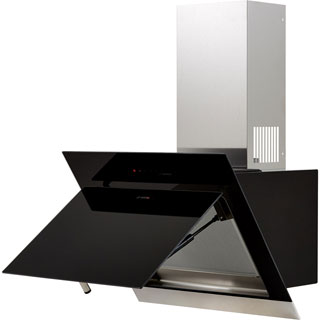Bosch Serie 4 DWK67HM60B Built In Chimney Cooker Hood - Stainless Steel / Black Glass - DWK67HM60B_SSB - 5