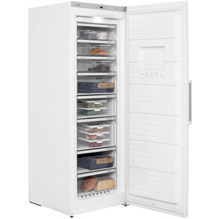 Bosch Serie 6 GSN58AW30G Upright Freezer - White - GSN58AW30G_WH - 2