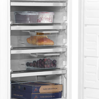 Bosch Serie 6 GSN58AW30G Upright Freezer - White - GSN58AW30G_WH - 5