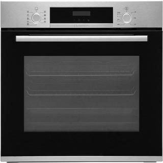 Bosch Serie 4 HBS573BS0B Built In Electric Single Oven - Stainless Steel - HBS573BS0B_SS - 1