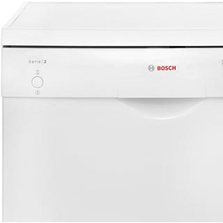 Bosch Serie 2 SMS24AW01G Standard Dishwasher - White - SMS24AW01G_WH - 2