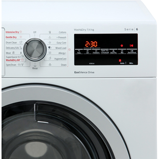 Bosch Serie 6 WVG30462GB 7Kg / 4Kg Washer Dryer with 1500 rpm - White - WVG30462GB_WH - 3
