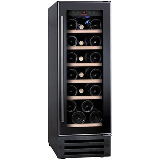 Baumatic BWC305SS/2 Built In Wine Cooler - Black / Stainless Steel - BWC305SS/2_BKG - 1