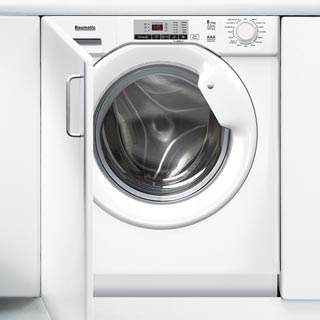 Baumatic BWDI1485D Integrated 8Kg / 5Kg Washer Dryer with 1400 rpm - BWDI1485D_WH - 1