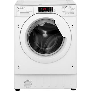 Candy CBWD8514D Integrated 8Kg / 5Kg Washer Dryer with 1400 rpm - CBWD8514D_WH - 2