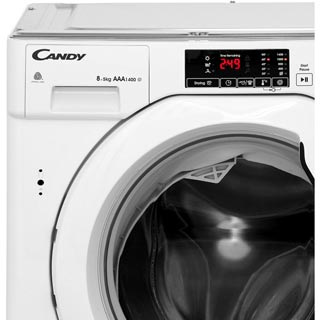 Candy CBWD8514D Integrated 8Kg / 5Kg Washer Dryer with 1400 rpm - CBWD8514D_WH - 4
