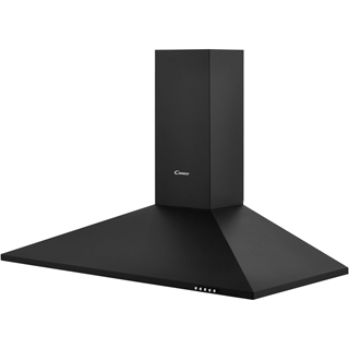 Candy CCE1104/1N Built In Chimney Cooker Hood - Black - CCE1104/1N_BK - 2