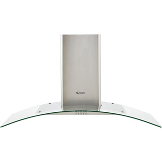 Candy CGM104X Built In Chimney Cooker Hood - Stainless Steel / Glass - CGM104X_SSG - 1