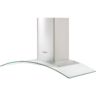 Candy CGM104X Built In Chimney Cooker Hood - Stainless Steel / Glass - CGM104X_SSG - 5