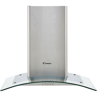 Candy CGM64/1X Built In Chimney Cooker Hood - Stainless Steel / Glass - CGM64/1X_SSG - 1