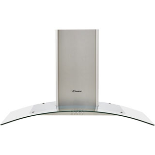Candy CGM94/1X Built In Chimney Cooker Hood - Stainless Steel / Glass - CGM94/1X_SSG - 1