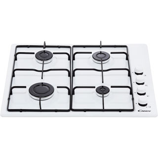 Candy CHW6LBB Built In Gas Hob - Black - CHW6LBB_BK - 5