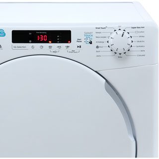 Candy Smart CSC8DF Condenser Tumble Dryer - White - CSC8DF_WH - 3