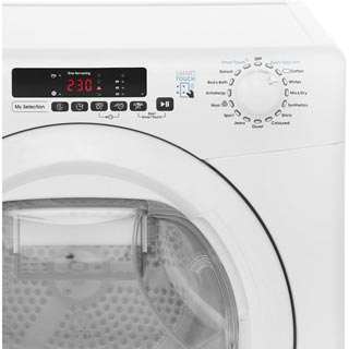 Candy Grand'O Vita GVSH9A2DE 9Kg Heat Pump Tumble Dryer - White - A++ Rated - GVSH9A2DE_WH - 4