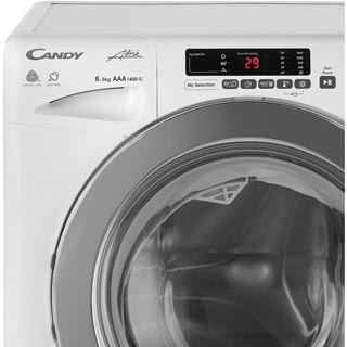 Candy Grand'O Vita GVSW485DC Washer Dryer - White - GVSW485DC_WH - 4