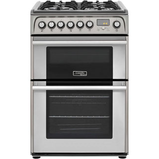 Cannon by Hotpoint CH60DPXFS Dual Fuel Cooker - Stainless Steel - CH60DPXFS_SS - 1