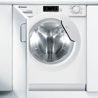 Candy CBWD8514D Integrated 8Kg / 5Kg Washer Dryer with 1400 rpm - CBWD8514D_WH - 1