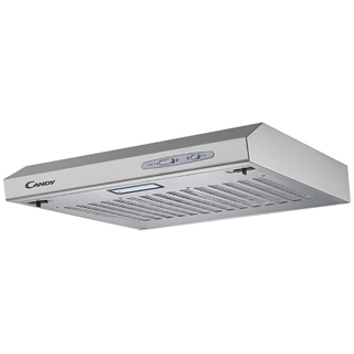 Candy CFT610/5S Built In Visor Cooker Hood - Silver - CFT610/5S_SI - 1
