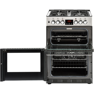 Belling Cookcentre 60DF Dual Fuel Cooker - Black - Cookcentre 60DF_BK - 3
