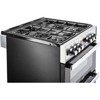 Belling Cookcentre 60DF Dual Fuel Cooker - Stainless Steel - Cookcentre 60DF_SS - 5