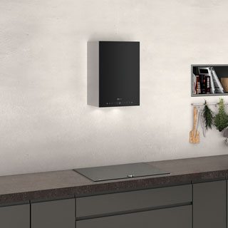 NEFF N90 D35KHV2S0B Built In Chimney Cooker Hood - Black - D35KHV2S0B_BK - 3