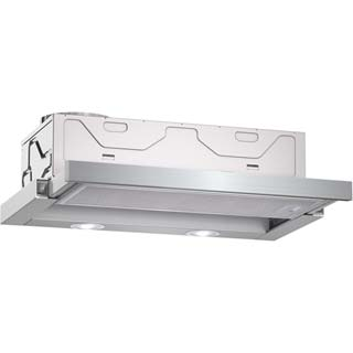 NEFF N30 D46BR22N0B Built In Integrated Cooker Hood - Metallic - D46BR22N0B_MT - 1