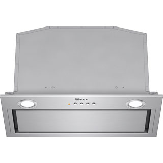 NEFF N50 D55MH56N0B Built In Canopy Cooker Hood - Stainless Steel - D55MH56N0B_SS - 1