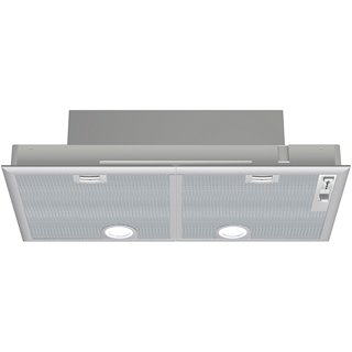 NEFF N30 D5855X1GB Built In Canopy Cooker Hood - Silver - D5855X1GB_SI - 1