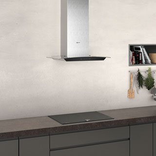NEFF N50 D64AFM1N0B Built In Chimney Cooker Hood - Stainless Steel - D64AFM1N0B_SS - 4