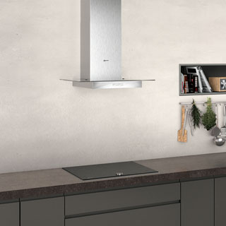 NEFF N30 D64GBC0N0B Built In Chimney Cooker Hood - Stainless Steel - D64GBC0N0B_SS - 4