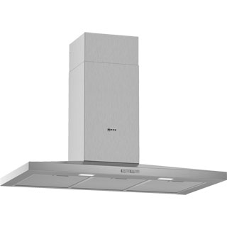 NEFF N30 D92QBC0N0B Built In Chimney Cooker Hood - Stainless Steel - D92QBC0N0B_SS - 1