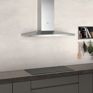 NEFF N30 D92QBC0N0B Built In Chimney Cooker Hood - Stainless Steel - D92QBC0N0B_SS - 3