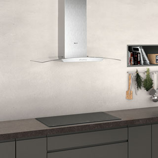 NEFF N30 D94ABC0N0B Built In Chimney Cooker Hood - Stainless Steel - D94ABC0N0B_SS - 4