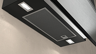NEFF N70 D95FRM1S0B Built In Chimney Cooker Hood - Black - D95FRM1S0B_BK - 3