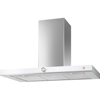 De Dietrich DHB7952W Built In Chimney Cooker Hood - White - DHB7952W_WH - 1