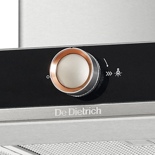 De Dietrich DHB7952W Built In Chimney Cooker Hood - White - DHB7952W_WH - 3