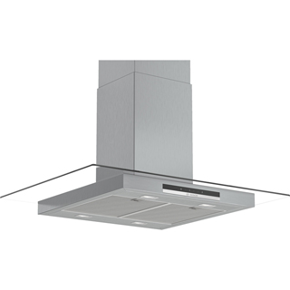 Bosch Serie 4 DIG97IM50B Built In Island Cooker Hood - Stainless Steel - DIG97IM50B_SS - 1