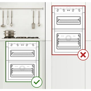 Hotpoint Class 2 DU2540WH Built Under Electric Double Oven - White - DU2540WH_WH - 4