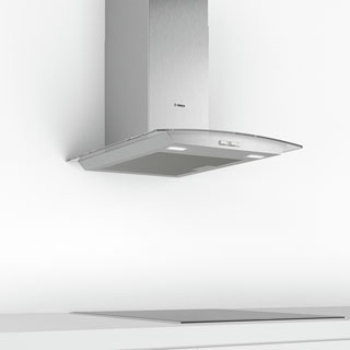 Bosch Serie 2 DWA64BC50B Built In Chimney Cooker Hood - Stainless Steel - DWA64BC50B_SS - 4